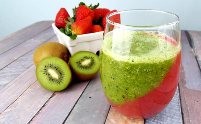 Smoothie: Kiwi & Berry