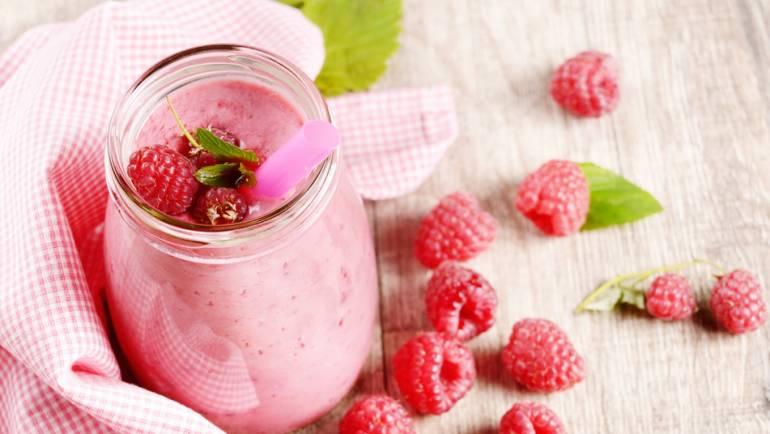 Smoothie: Raspberry & Vanilla