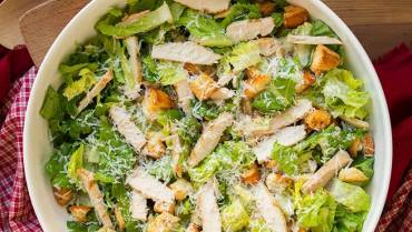 Light Caesar Salad