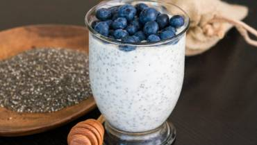 Snack: Low Fat  Yogurt with Chia Seeds