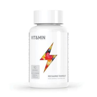 Battery Nutrition Vitamins & Minerals Supplement