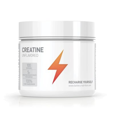 Creatine Muscle Mass Battery Nutrition