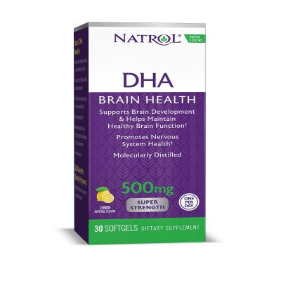 Natrol DHA 500mg Supplement