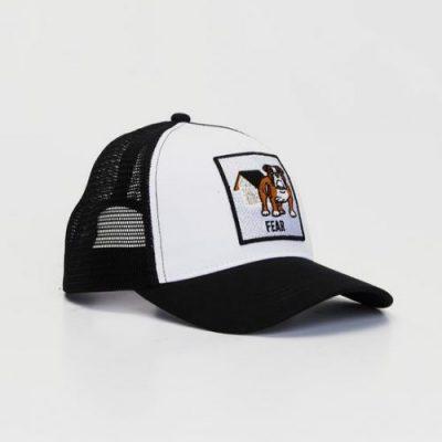 Snapback Cap English Bulldog Side