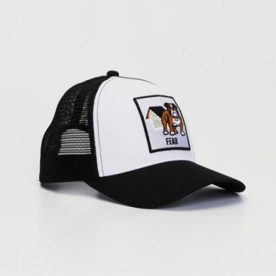 Snapback Cap English Bulldog Side
