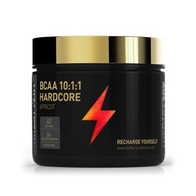 Amino Acids Hardcore BCAA Battery Nutrition