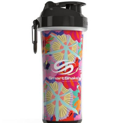 Protein Shaker Double Wall 750ml Flower Power