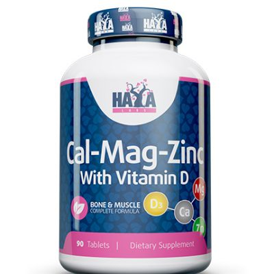 Calcium Magnesium & Zinc with Vitamin D Haya Labs