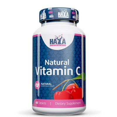 Natural Vitamin C from Organic Acerola Fruit 60 tabs