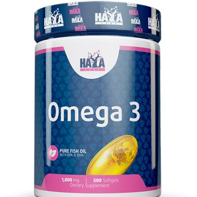 Omega 3 1000mg 500 softgels Haya Labs