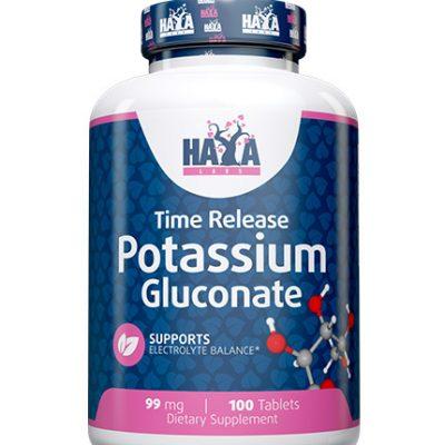 Potassium Gluconate 99mg100 tabs Haya Labs