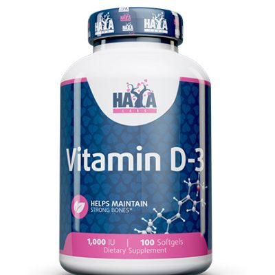 Vitamin D3 1000 IU Haya Labs