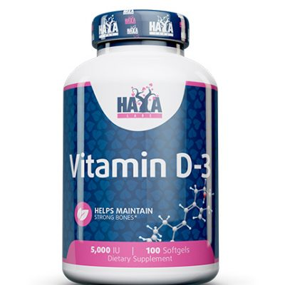 Vitamin D3 5000 IU Haya Labs