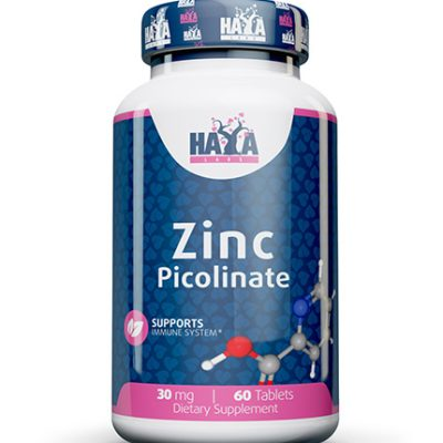 Zinc Picolinate 30 mg 60 tabs Haya Labs