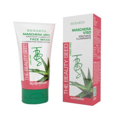 Bioearth TBS Bio face mask with 50% organic aloe vera